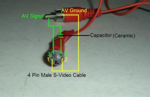 Do it yourself  SVideo to RCA (Composite) Cable  Adapter  Suhas Tech