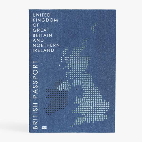 Brexit護照設計