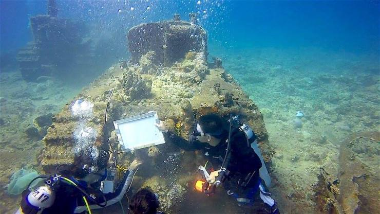 水中考古学 グアム 6