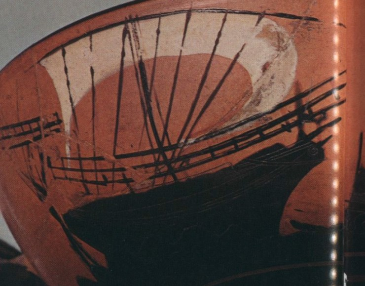 水中考古学 古代ギリシャ 船 4