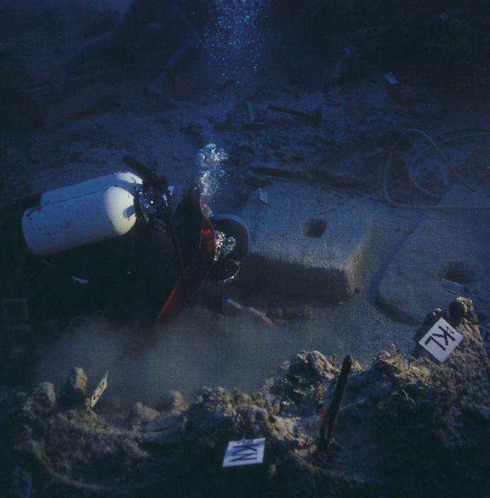 水中考古学 ウルブルン沈没船 トルコ