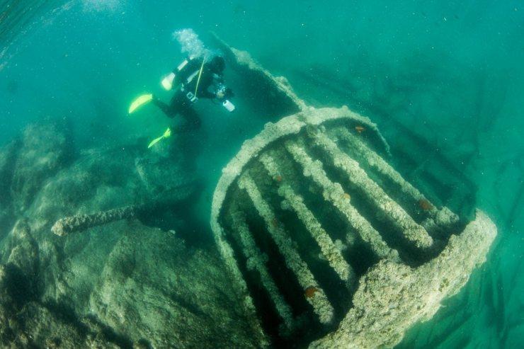 メキシコ 水中考古学 5
