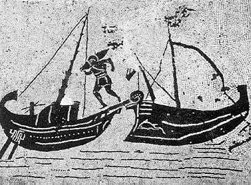 水中考古学 ローマ帝国 船 1