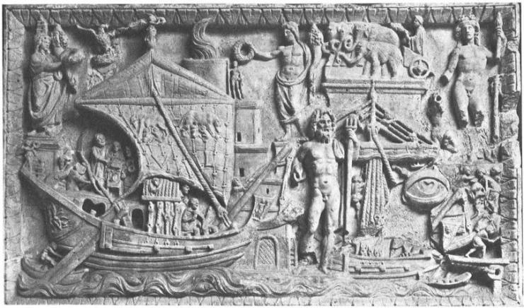 水中考古学 ローマ帝国 船 3