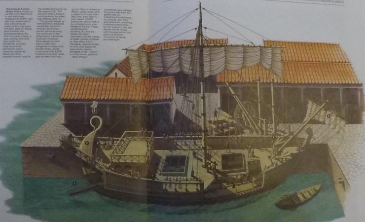 水中考古学 ローマ帝国 船 5