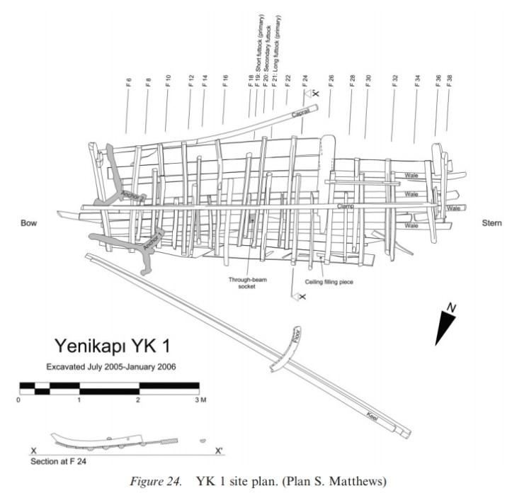 ヨーロッパ 沈没船 東ローマ ビザンティン 水中考古学 17
