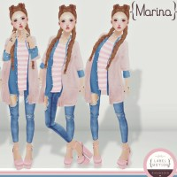 Label Motion✿Marina 50%OFF
