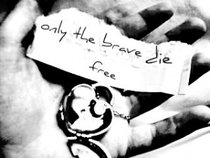 only the brave die free