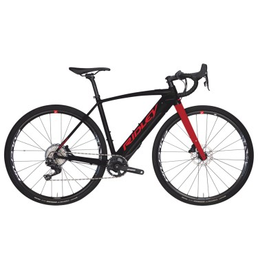 gravel-ridley-kanzo-e-ultegra-black-red