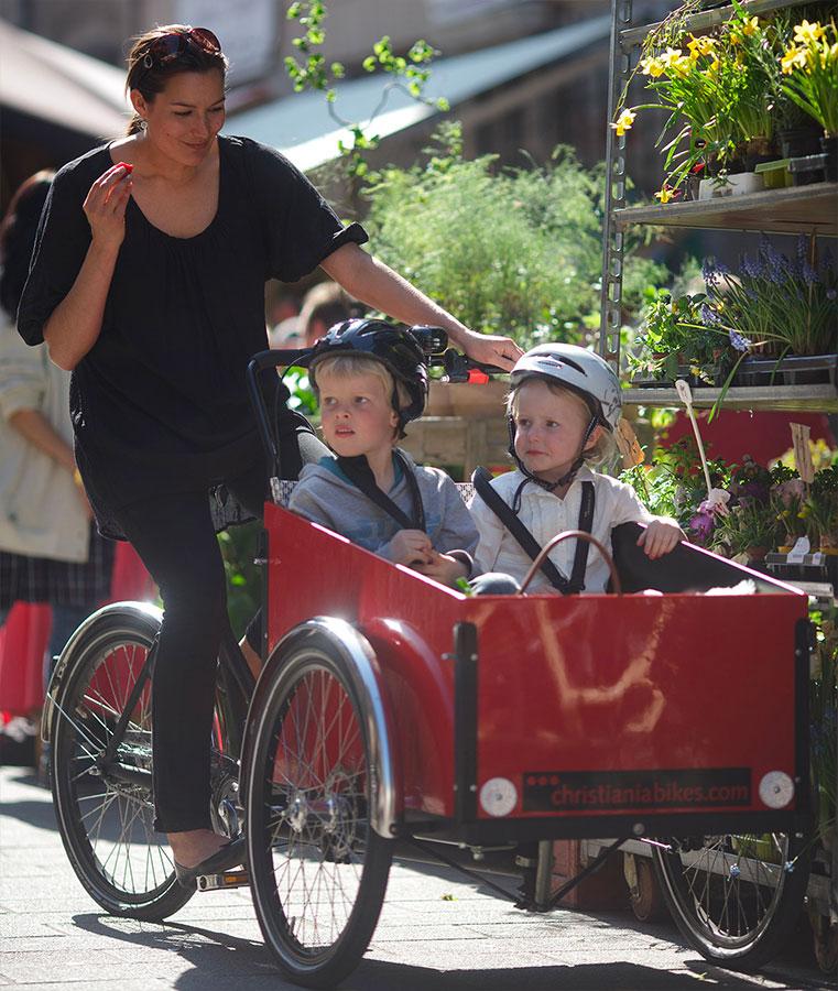 Foto Lastenrad Christiania