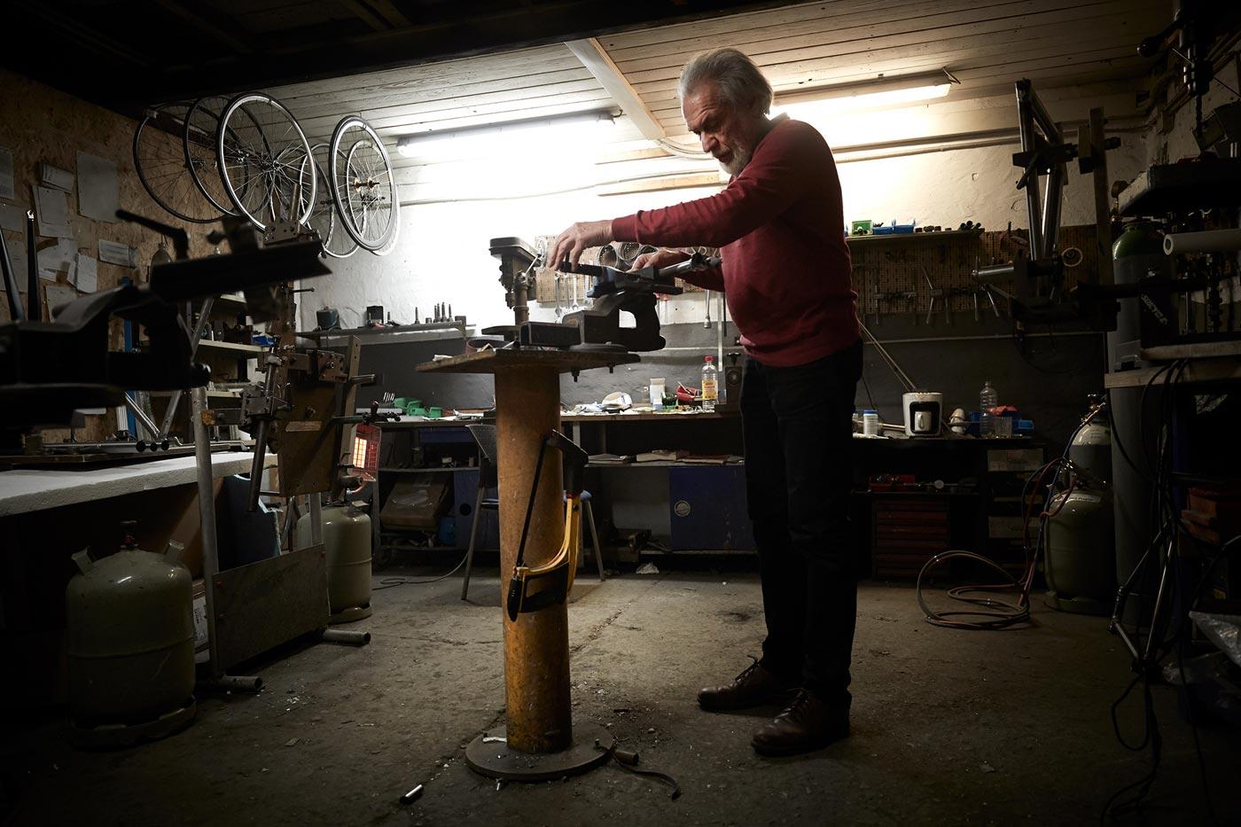 Foto Suicycle Rahmenbau