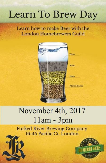 Learn To Homebrew Day 2017 at Forked River Brewing