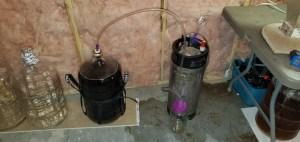 3D Printed keg purger