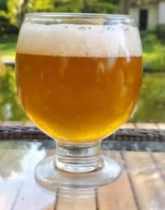 saison in a glass.