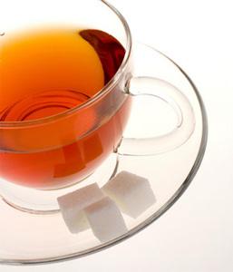 Kopje thee zonder suiker
