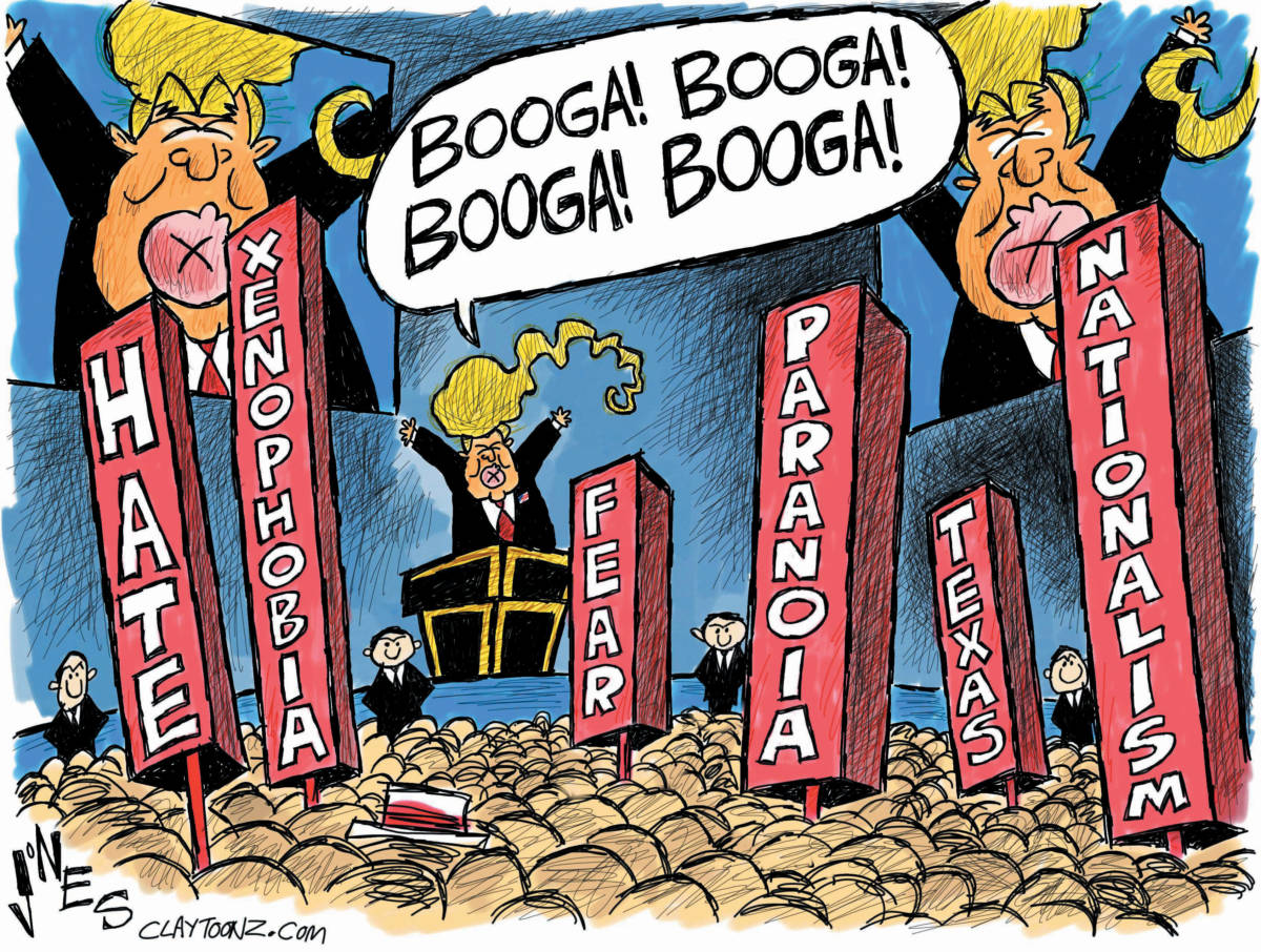 Image result for trump doom and gloom cartoons free