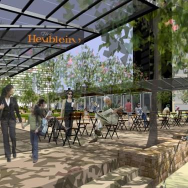 Heublein Terrace & Cafe Bushnell Gardens