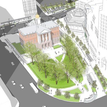 A transit hub for downtown Hartford