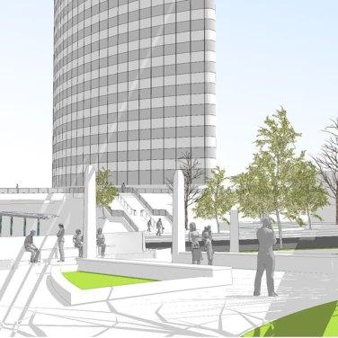 A transit hub for downtown Hartford