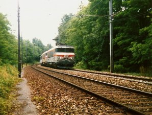 CH - SNCF, UM de BB 7200 sur la ligne La plaine - Genève