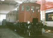 CH - CFF Historic Be 4/7 au dépôt de Bienne