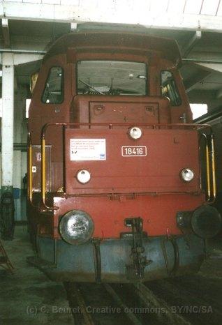 CH - CFF, Bm 4/4 au dépôt de Bienne
