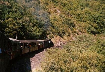 F - CFV peu avant le tunnel de Mordagne