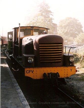 F - CFV, locotracteur Y à Tournon