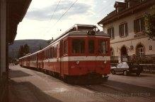 CH - CJ Glovelier, train pour La Chaux-de-Fonds
