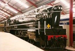 AUT - dans le musée ferroviaire de Port-Adélaïde