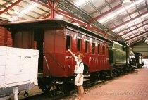 AUT, dans le musée du chemin de fer de Port Adélaïde