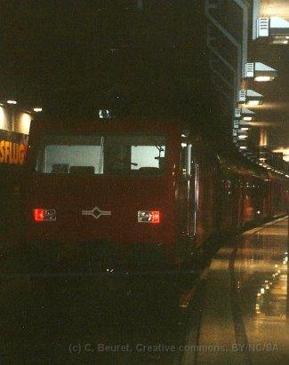 CH - SZU, Re 4/4 à la gare de Zürich HB