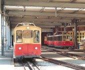 CH - SPB, rames modernes au dépôt de Wilderswil