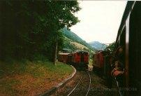 F - chemin de fer de la Mure, croisement à Notre-Dame de Commiers