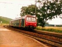 CH - Z2 de la SNCF à Russin sur la ligne Genève - La Plaine (-Bellegarde).