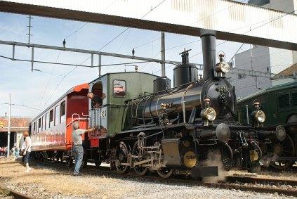 La 456 prète à partir pour une navette Hochdorf - Hitzkirch