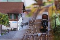 Modélisme: la gare de Linthwil