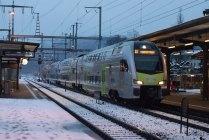 Puis vient la S1 Thun - Fribourg
