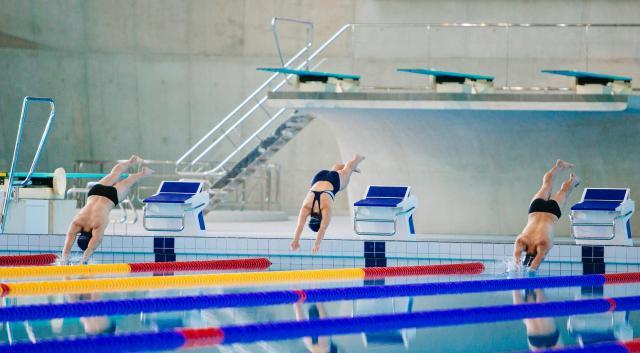 【競泳飛び込みの練習方法】初心者から子供へ!スタート前後4つのコツ