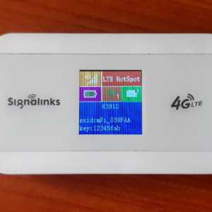 4G Mifi for all Networks