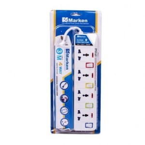 Marken 5way Extension with Surge Protector