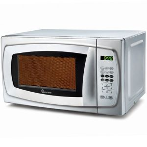 20 Liters Ramtons Microwave +Grill Silver- Rm/310