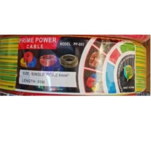Prime Power Cable PP003-4mm Single Core 90metres