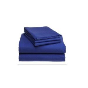 Royal blue bed sheets