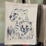 cheater zebra head Branded-CANVAs-jute-bags-in-Nairobi kenya suitable homes