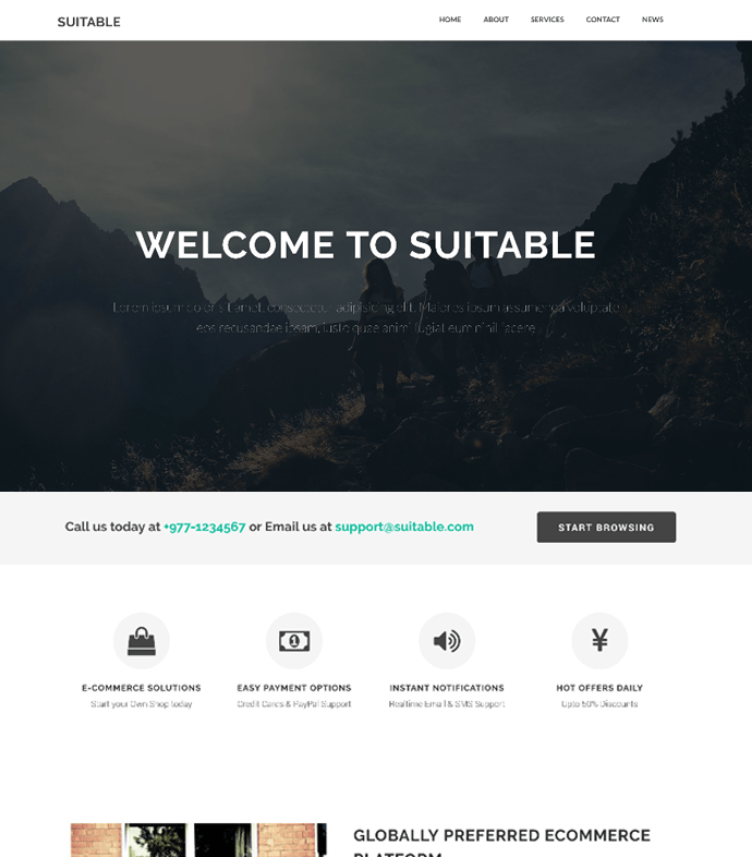 Suitable – Business