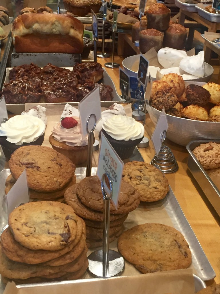 Delicious treats at the Flour Bakery in South Boston