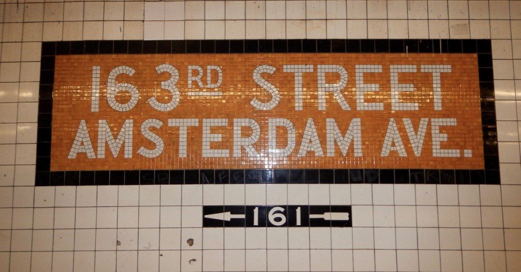 New York subway 163rd Street