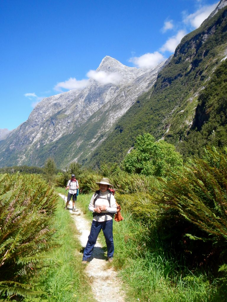 Walkers on the Milford Track