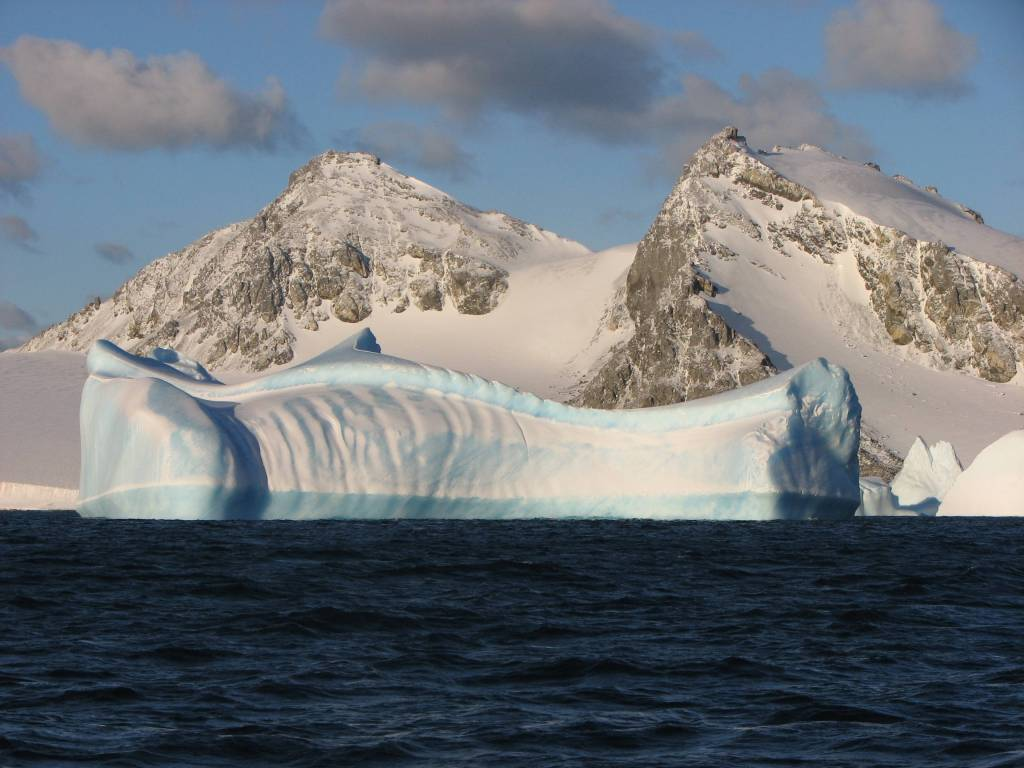 A stunning iceberg in the South Orkney Islands.